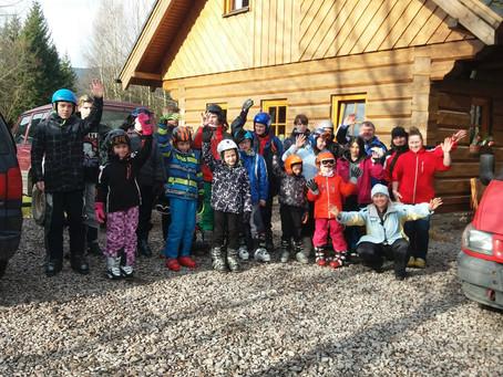 Pěstounské rodiny kraje Vysočina - lyžařský kurz
