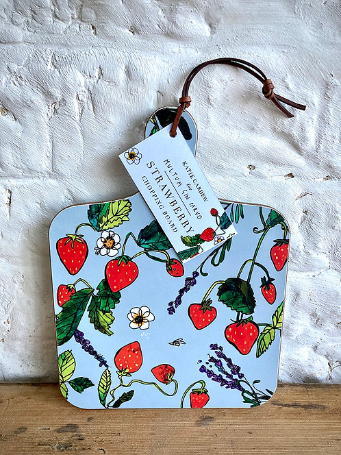 MGP Strawberry Chopping Board