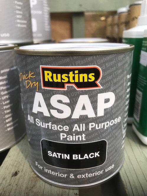 "Rustins ASAP All Surface All Purpose ""Black"" 500ml"