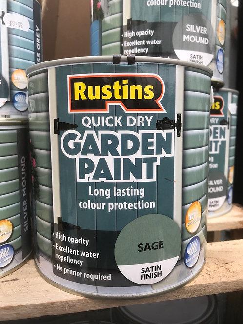 "Rustins Garden Paint ""Sage"" 2.5L"