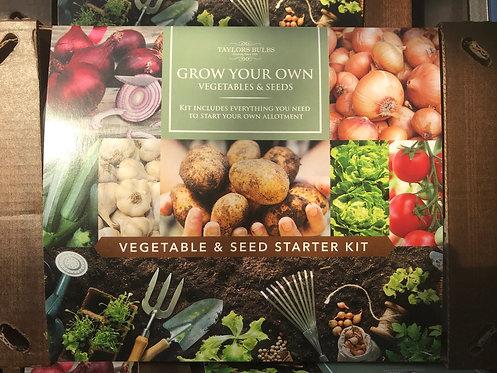 Vegetable & Seed Starter Kit