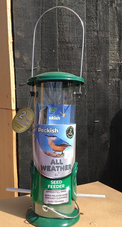 Peckish All Weather Seed Feeder