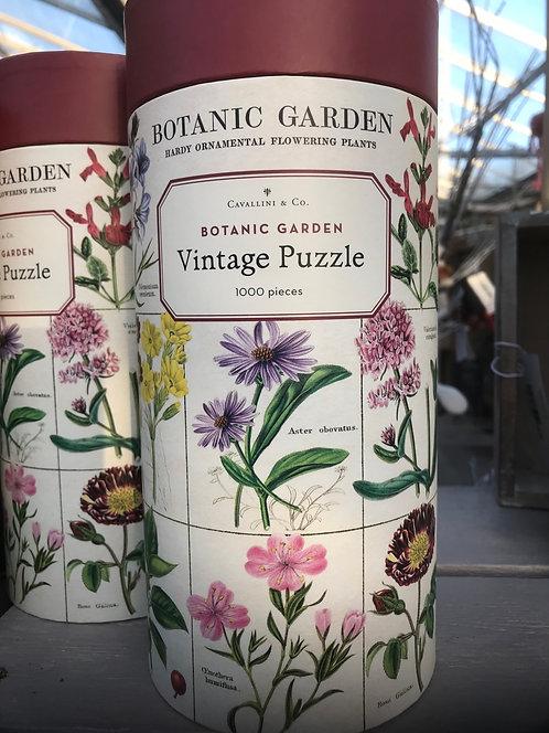 "Cavallini & Co ""Botanic"" Vintage Puzzle"