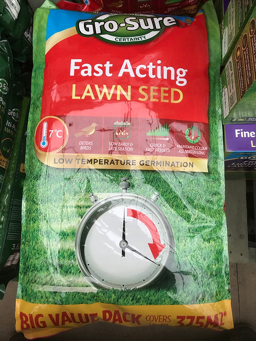 Fast Acting Lawn Seed 375m2