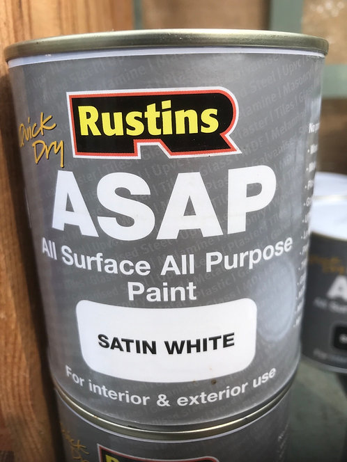 "Rustins ASAP All Surface All Purpose ""White"" 500ml"