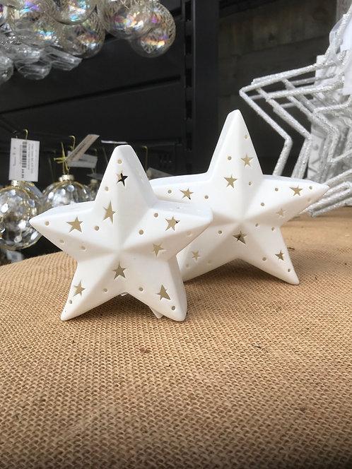 Star LED Decoration 12cm