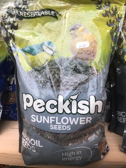 Peckish Sunflower Seeds 1.25kg