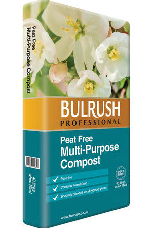 Bulrush Peat Free Multi Purpose 40L