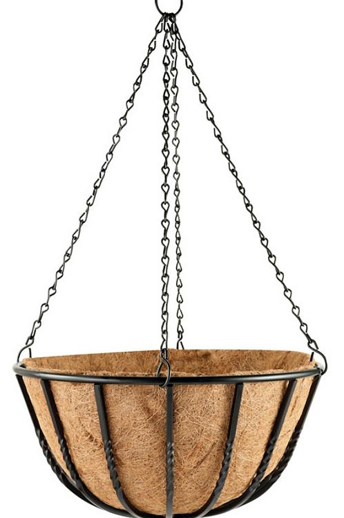 """16"""" Blacksmith Hanging Basket"""