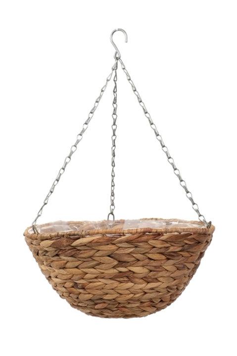 """14"""" Hyacinth Light Hanging Basket"""