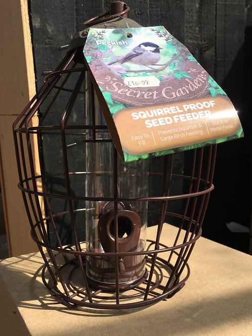 Squirrel Proof Seed Feeder