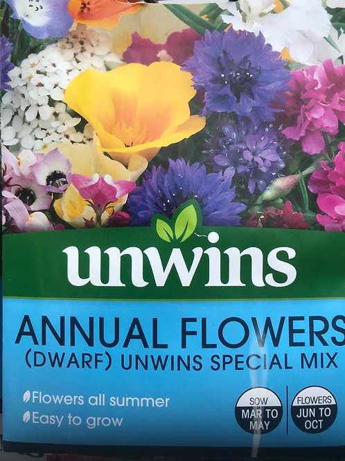 "Annual Flowers ""Special Mix"""
