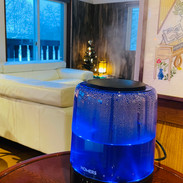 Humidifier in the lounge (winter)