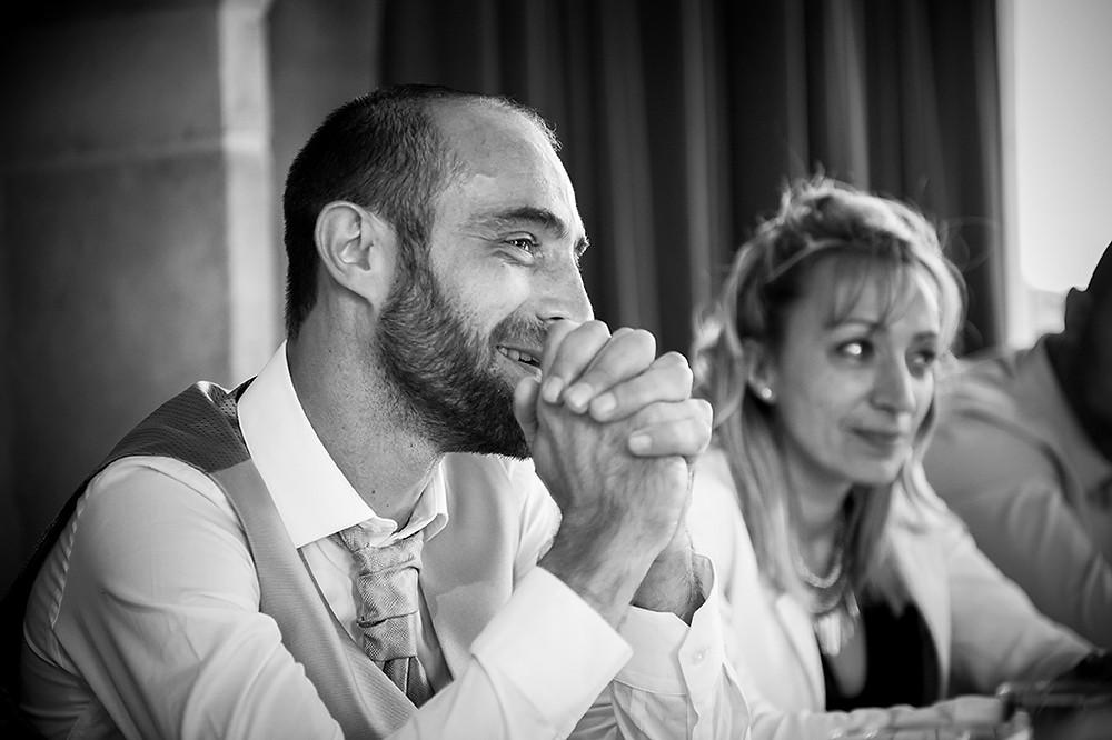 Photo de mariage vin d'honneur à Clermont-Ferrand
