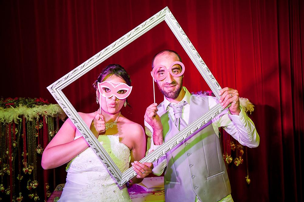 photo de mariage pendant la soirée à Clermont-Ferrand