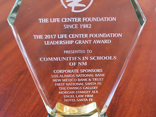 THANK YOU, LIFE CENTER FOUNDATION!