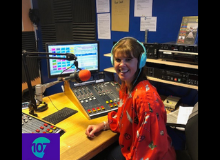 Radio Interview with Samantha Day 107 Meridian