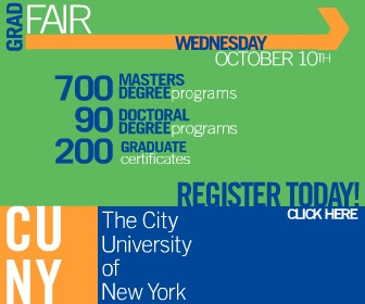 CUNY banner ad