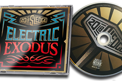 CD of the Electric Exodus album by 20 lb Sledge