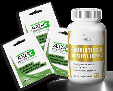 Try Axia3 For Free - plus PROBIOTICS BONUS DEAL