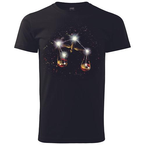 Pánské tričko zvěrokruh - VÁHY
