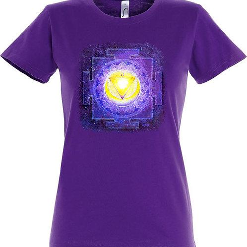 Dámské tričko - JANTRA OČIŠTĚNÍ  5.čakra