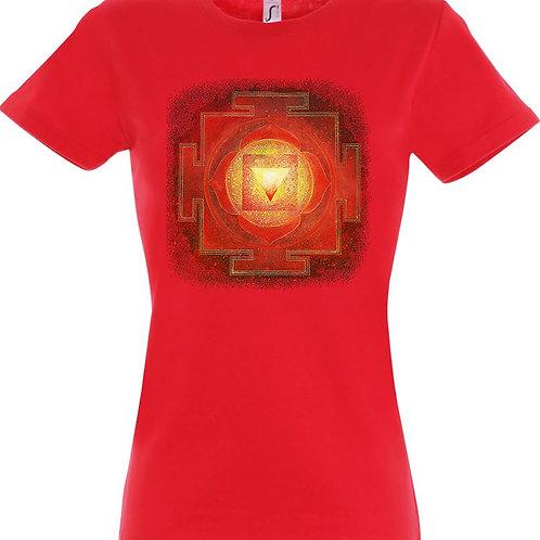 Dámské tričko - JANTRA DUCHOVNÍ SÍLY  1.čakra