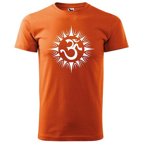 Tričko ÓM - oranžová