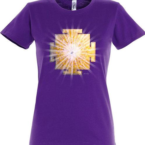 Dámské tričko - JANTRA SVĚTLA  7.čakra