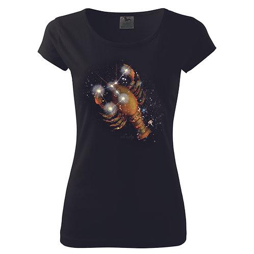 Dámské tričko zvěrokruh - RAK