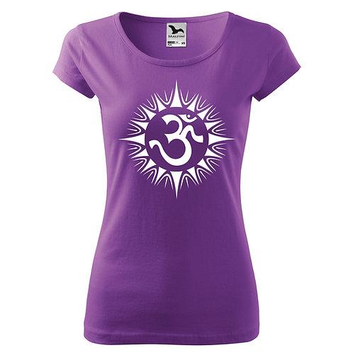 Dámské tričko ÓM - fialová
