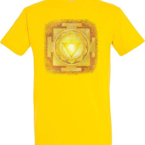 Pánské tričko -JANTRA SLUNCE 3.čakra