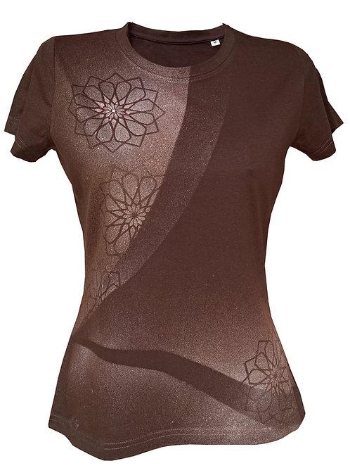 Malované tričko - VESMÍRNÉ KVĚTY