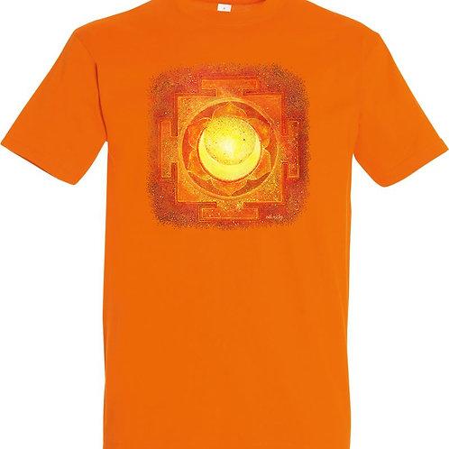 Pánské tričko -JANTRA TVŮRČÍ SÍLY  2.čakra