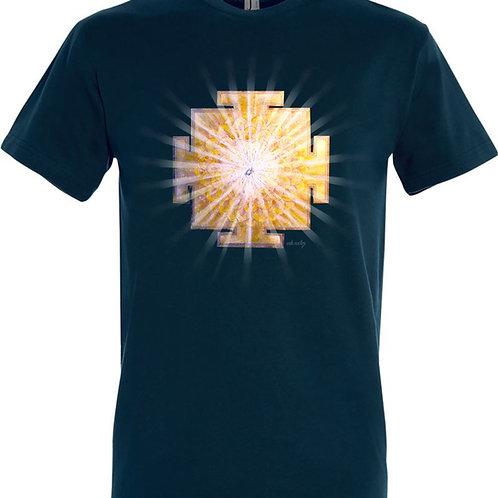 Pánské tričko -JANTRA SVĚTLA 7.čakra