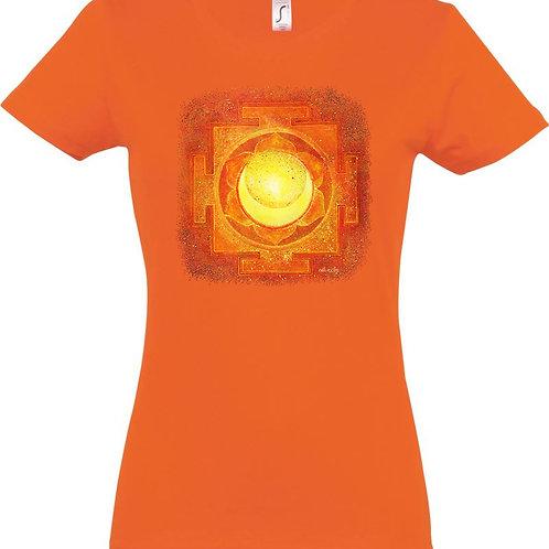 Dámské tričko - JANTRA TVŮRČÍ SÍLY  2.čakra