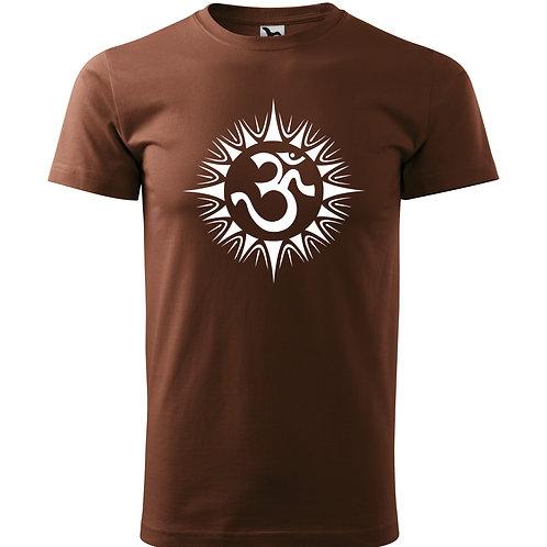 Tričko ÓM - čokoládová