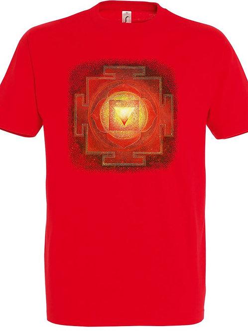 Pánské tričko - JANTRA DUCHOVNÍ SÍLY 1.čakra