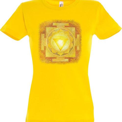 Dámské tričko - JANTRA SLUNCE  3.čakra