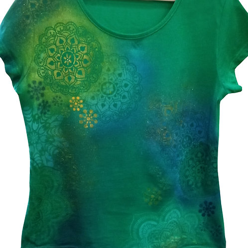 Malované tričko -PROBUZENÍ JARA