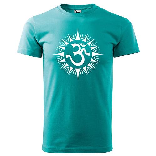 Tričko ÓM - emerald