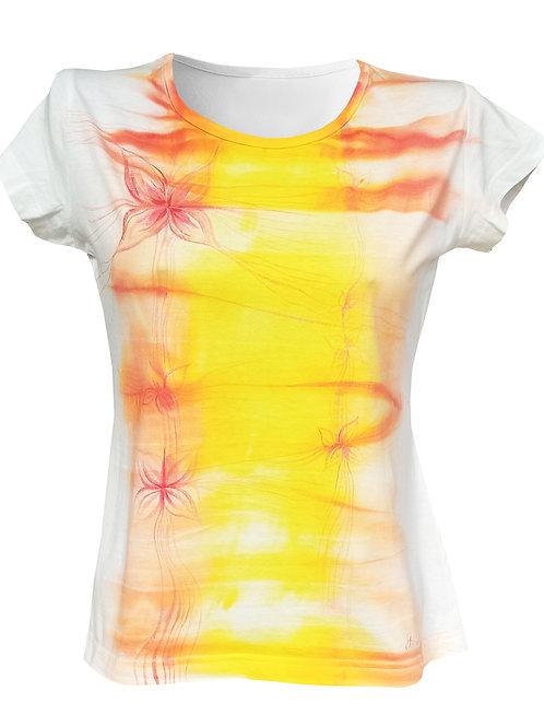Malované tričko - KOUZELNÉ LÉTO