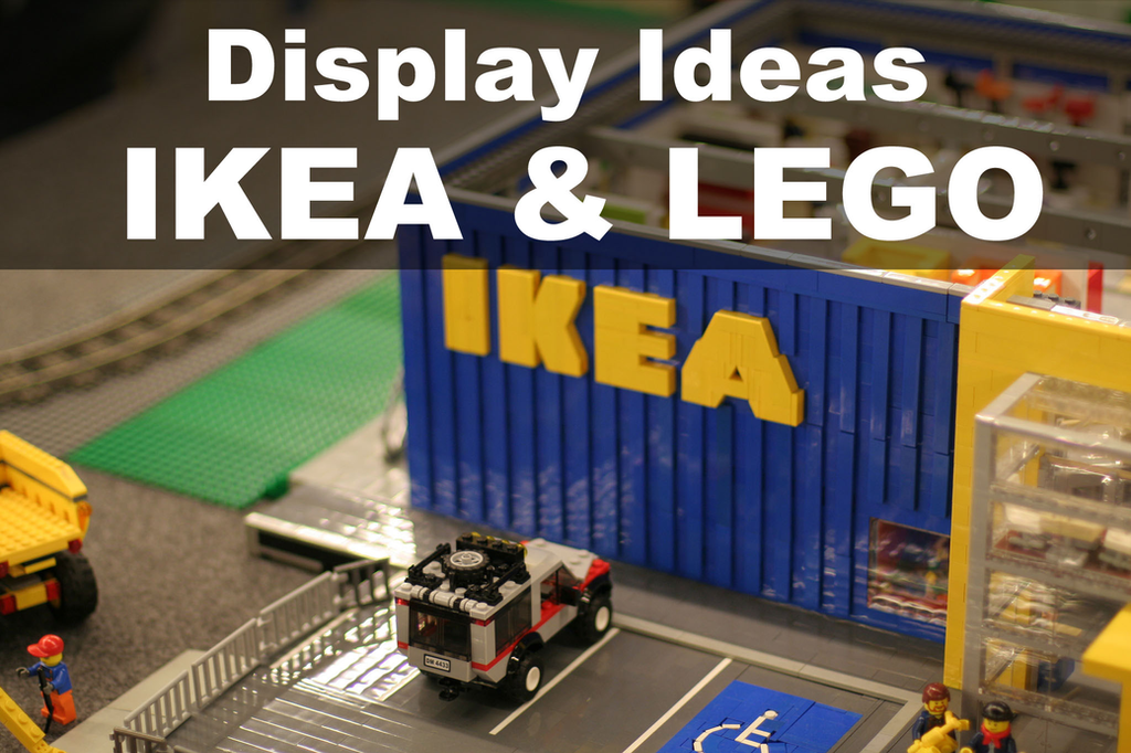 Ikea and Lego (Part 1) - Ribba and Kasseby