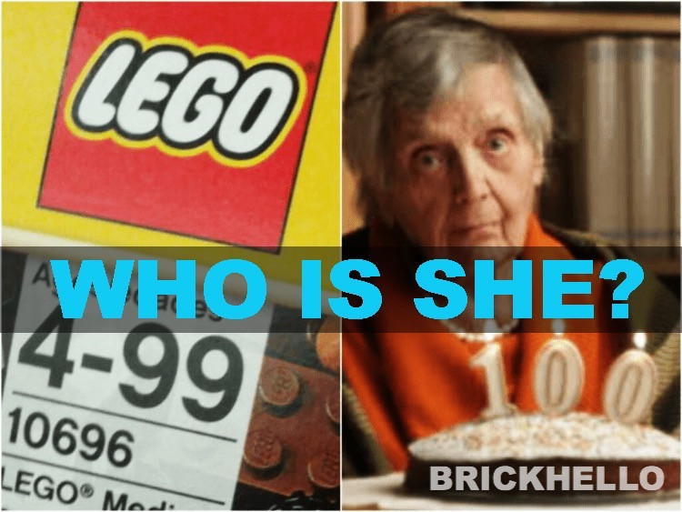 Who Is The Grandma In The 100 Year Old Lego Meme