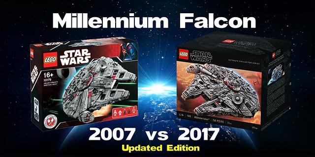 UCS Millennium Falcon 2007 vs 2017 | Brick Hello - All things LEGO