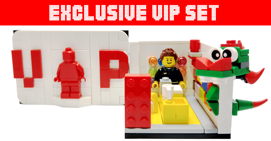 LEGO Store - Exclusive VIP Limited Set 40178 Review