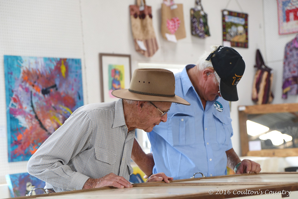 Locals and visitors admired many sections at the 2016 Wandoan show.