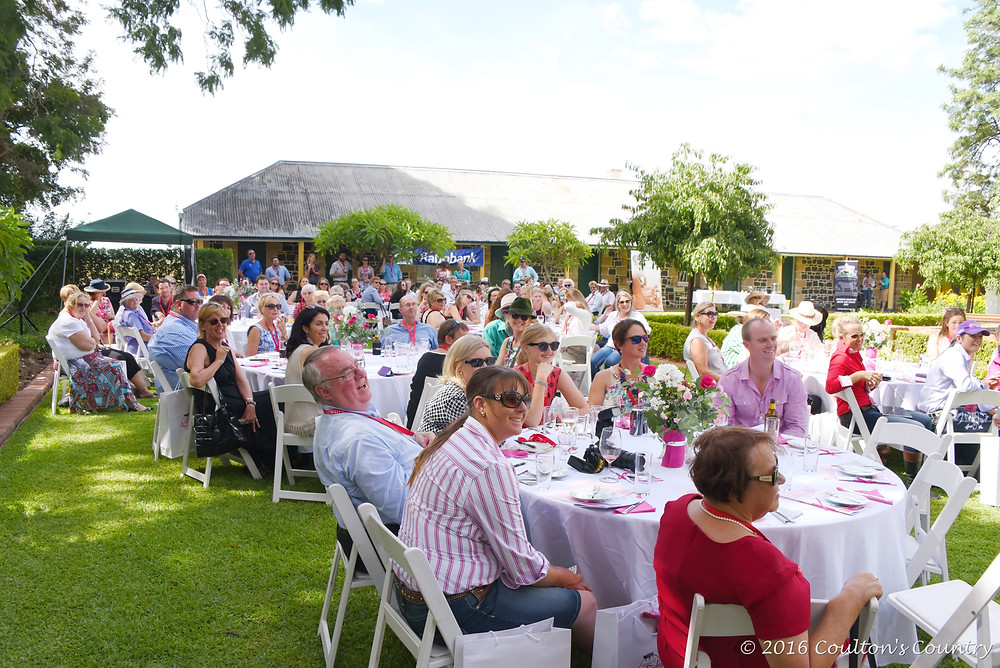 More than 150 guests attended the inaugural High Tea event held by WOLF at Jimbour House.