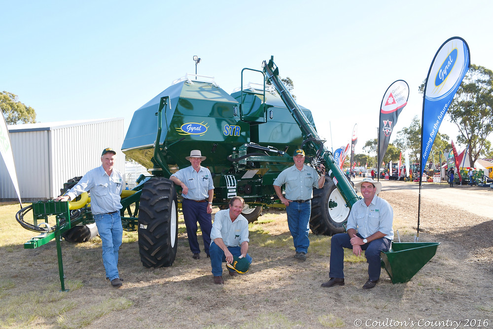 The Gyral and Excel team from Great Western Corporation at their CRT FarmFest 2016 site.