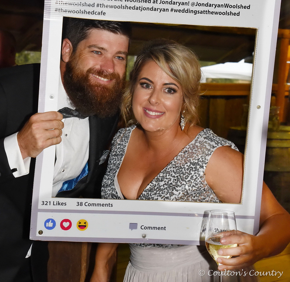 Having a ball at WOLF's Beef, Bling & Bow Ties were William Garrahy and Ki-Yee Bailey, Crows Nest.